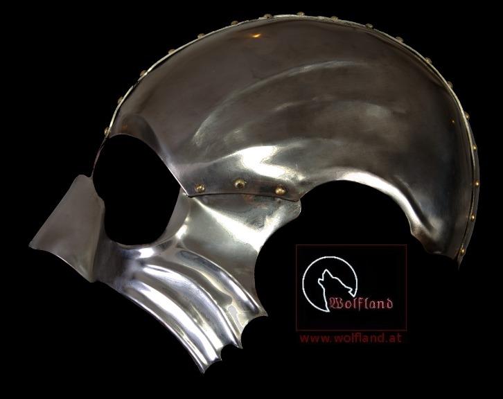 Steele Mask Steel Mask Snake Helmet